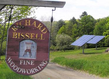 Bissel's Fine Woodworking 10kW tracker system
