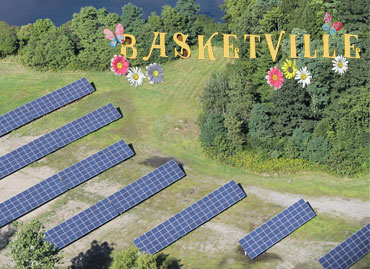 Basketville's 155.52kW Solar PV Fixed Ground Mount Array