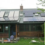 3 solar Panels and a 7.5kW Solar Electric System