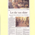 Let the Sun Shine Integrated Solar celebrates 35 years of business