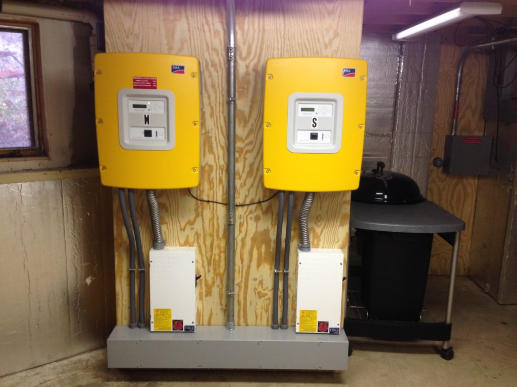 Two SMA 6048 Sunny Island Inverters
